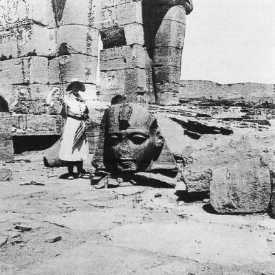 Ramesseum (anonyme 1930).