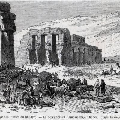 Dessin de M. Darjou. (octobre 1869).