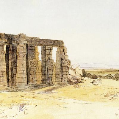 Edward Lear  (1854).