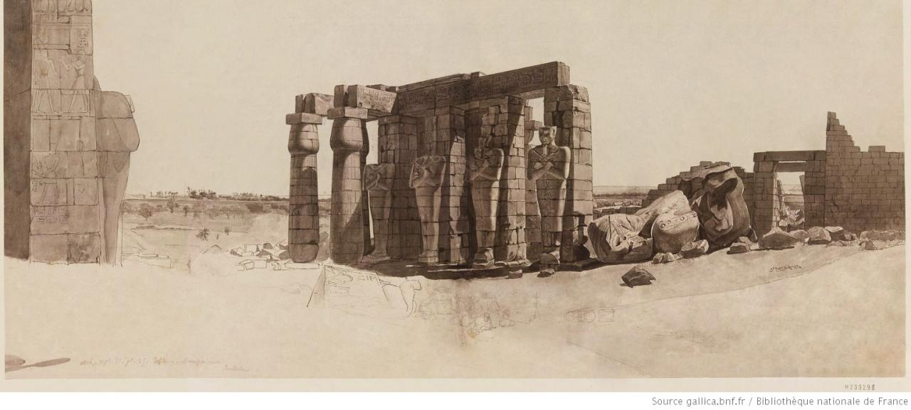 D'après André Dutertre, Description de l'Égypte (1809).