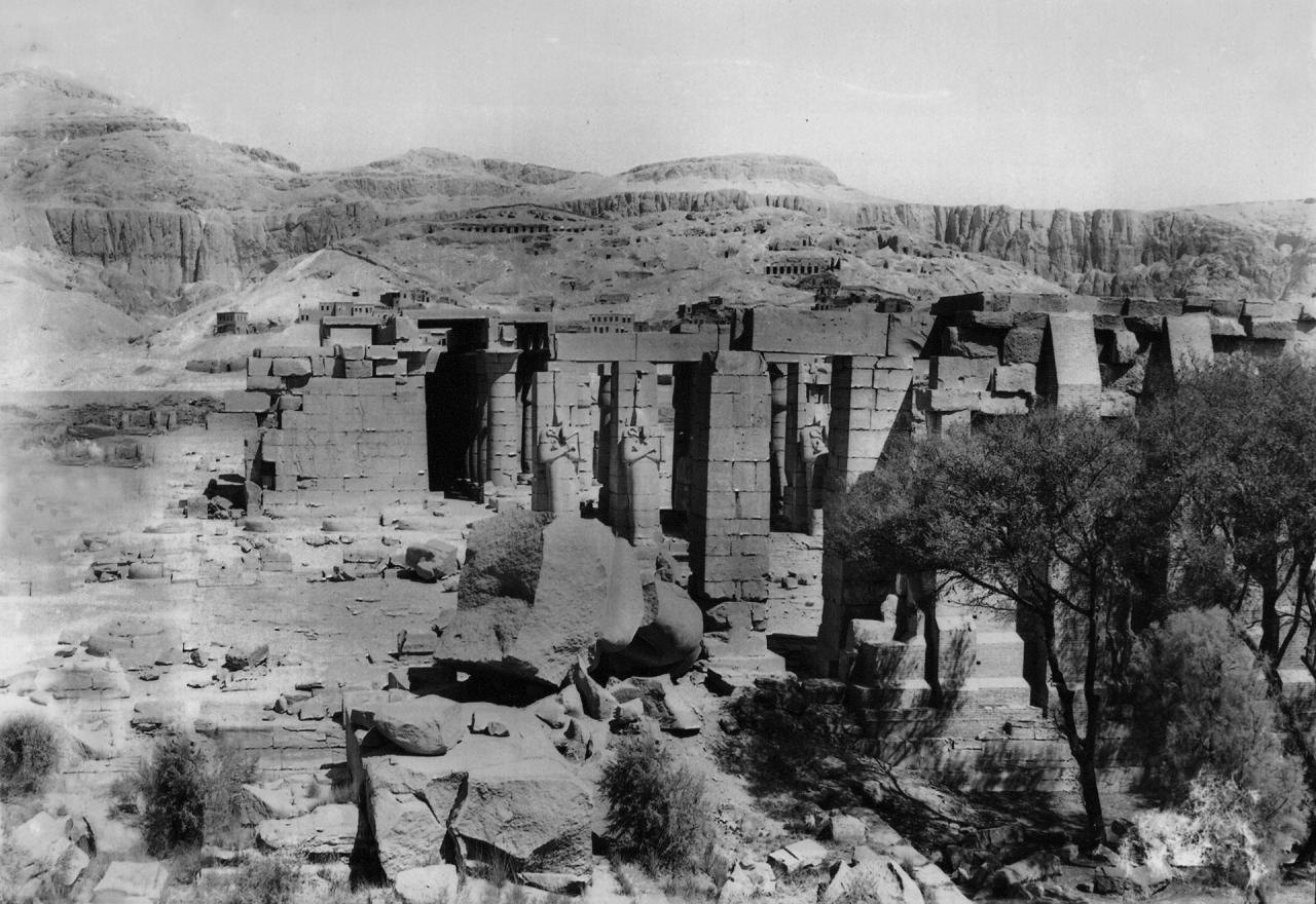 Cliché Gaddis et Cie, Luxor (1916).