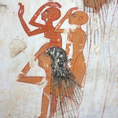 Tombe d'Amenmès - TT19 - nécropole de Dra Aboul Naggah