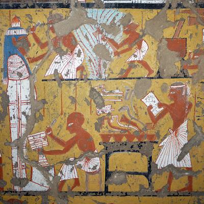 Tombe d'Ipouy -  TT217 - nécropole de Deir el-Medineh