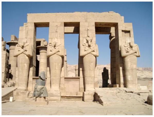 Le Ramesseum © Radio France