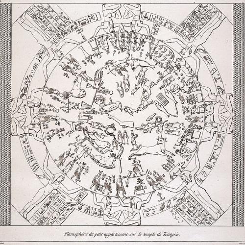 Le Zodiaque de Denderah