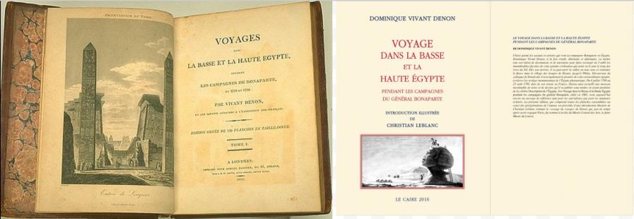 Voyage dans la Basse et la Haute-Égypte pendant les campagnes du Général Bonaparte