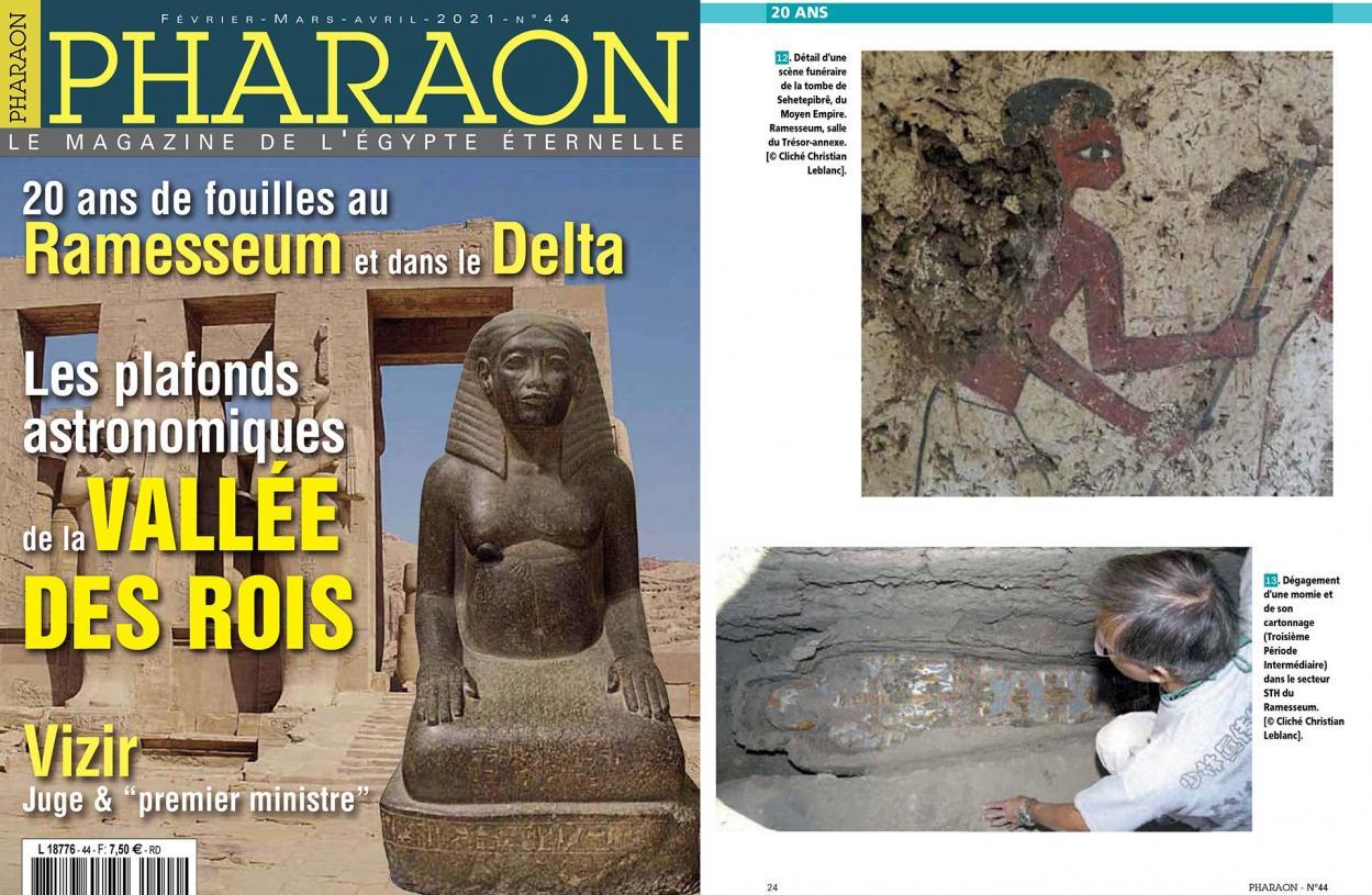 Pharaon magazine N°44