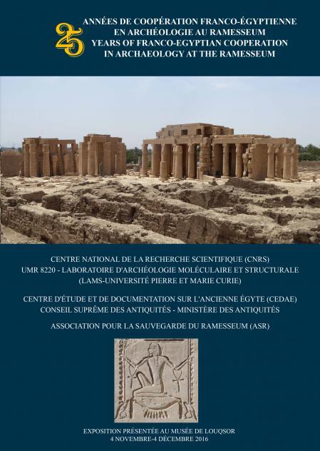 catalogue de l'exposition de Louqsor en Français