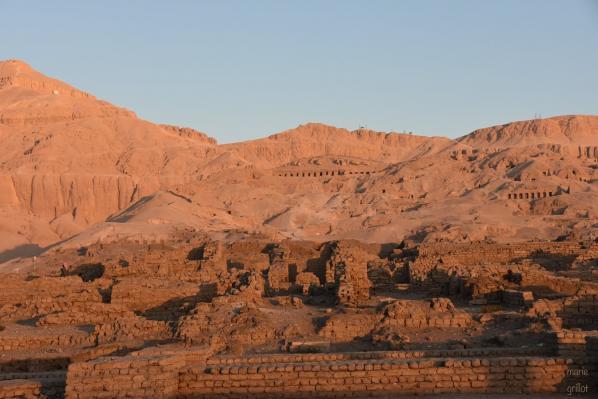 Dépendances du Ramesseum, temple de millions d'années de Ramsès II sur la rive ouest de Louqsor