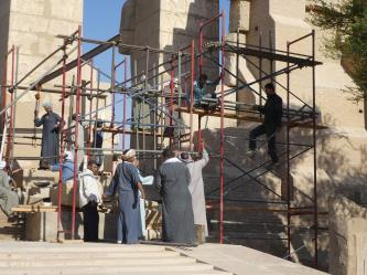 Escalier de la 1ère cour