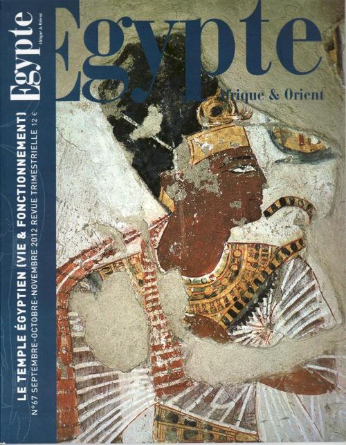 Le temple égyptien (vie & fonctionnement)
