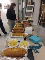 Le buffet organisé par les membres de l'ASR