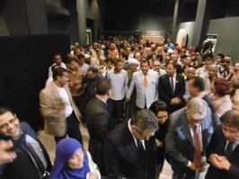 Inauguration au musée de Louqsor.