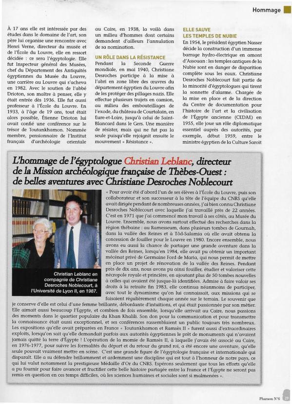 Pharaon magazine 2011