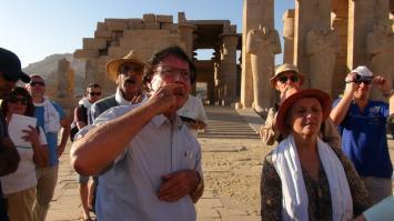 Le Ramesseum - voyage 2016
