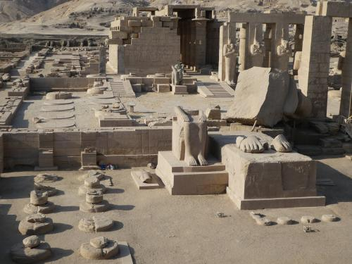 Le Ramesseum - novembre 2017