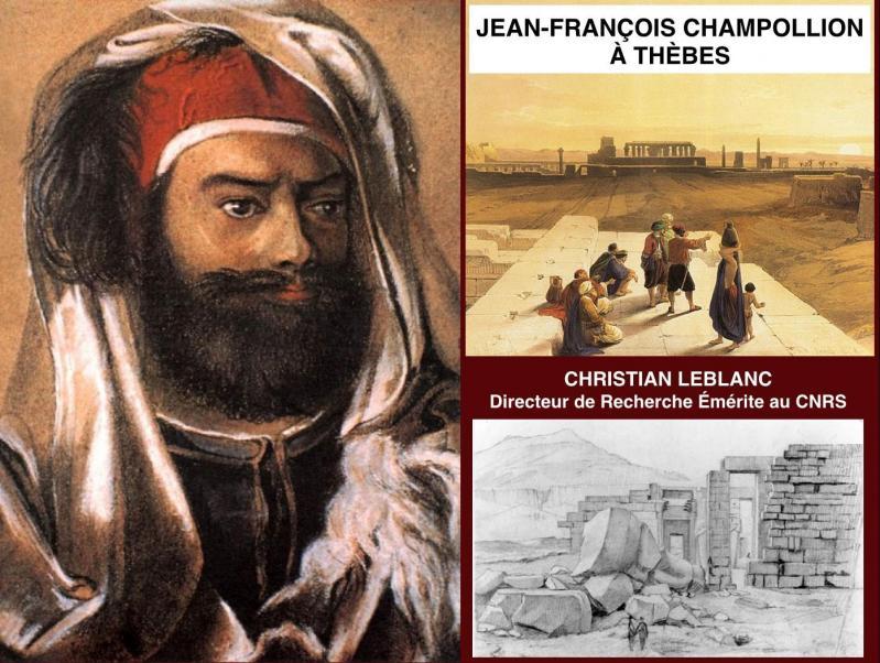 Jean-François Champollion à Thèbes